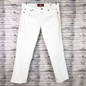 Lucky White Jeans Ankle Cropped Size 8/29